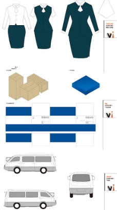 全套VI设计模板图片