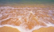 海水泡沫图片