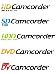 camcorder系列logo图片