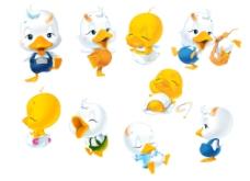 卡通鸭2图片