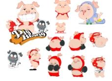 卡通猪3图片