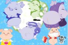 卡通猪5图片