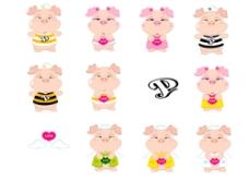 卡通猪4图片