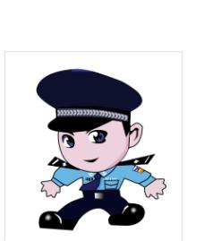 经典卡通警察图片