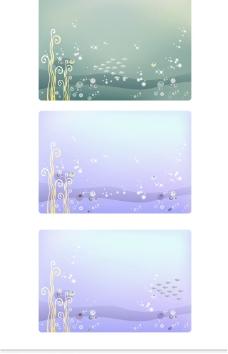 梦幻水底世界背景素材图片