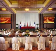 五星级酒店会议室图片
