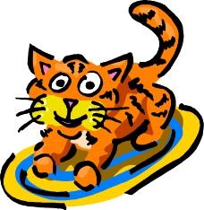 常见动物漫画0675