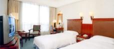 五星级酒店客房图片