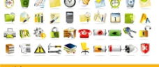 常用系统图标矢量素材图片