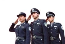 人民警察實際像素下非高清圖片